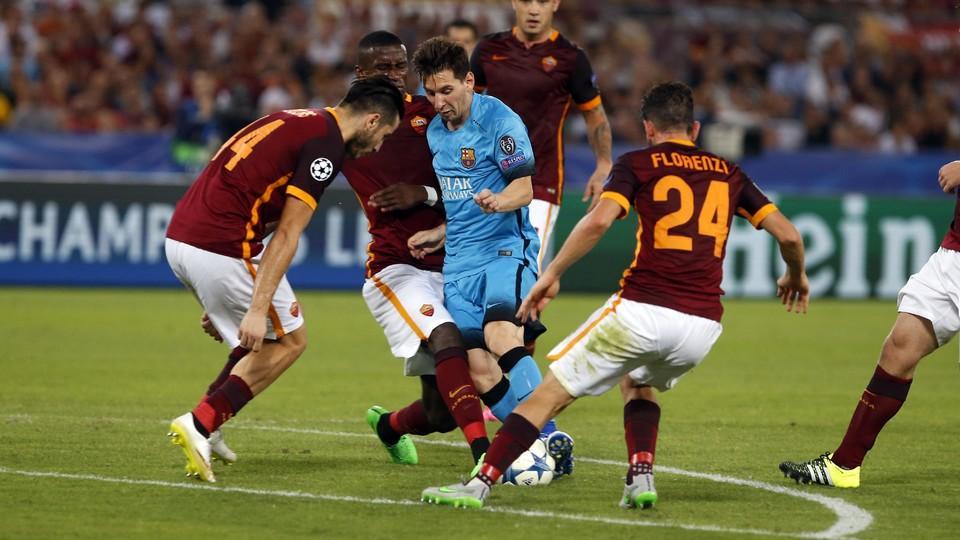 Prediksi Pertandingan Bola Barcelona vs AS Roma 1 Agustus 2018