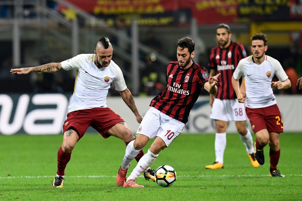 Prediksi Pertandingan Bola AC Milan vs AS Roma 1 September 2018