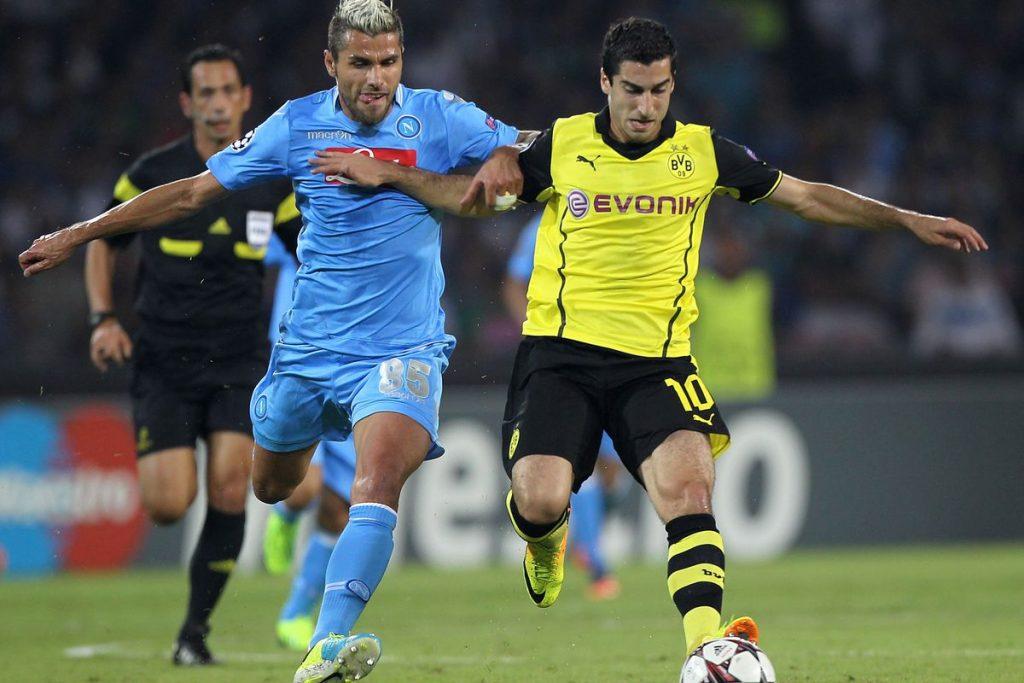 Prediksi Pertandingan Bola Borussia Dortmund vs Napoli 8 Agustus 2018