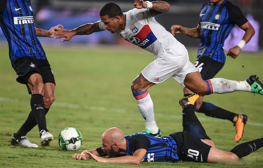 Prediksi Pertandingan Bola Inter Milan vs Olympique Lyonnais 5 Agustus 2018