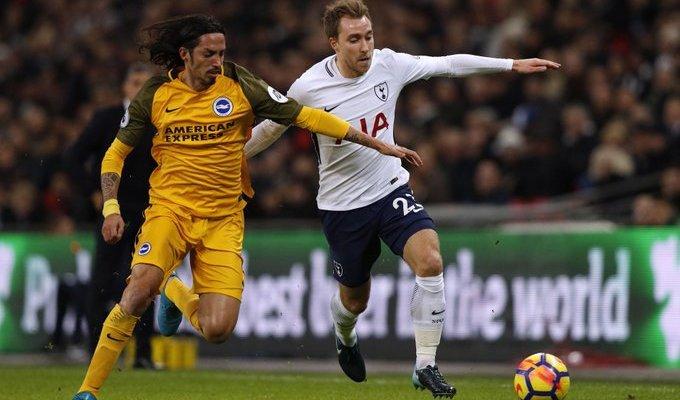 Prediksi Pertandingan Bola Brighton & Hove Albion VS Tottenham Hotspur 22 September 2018