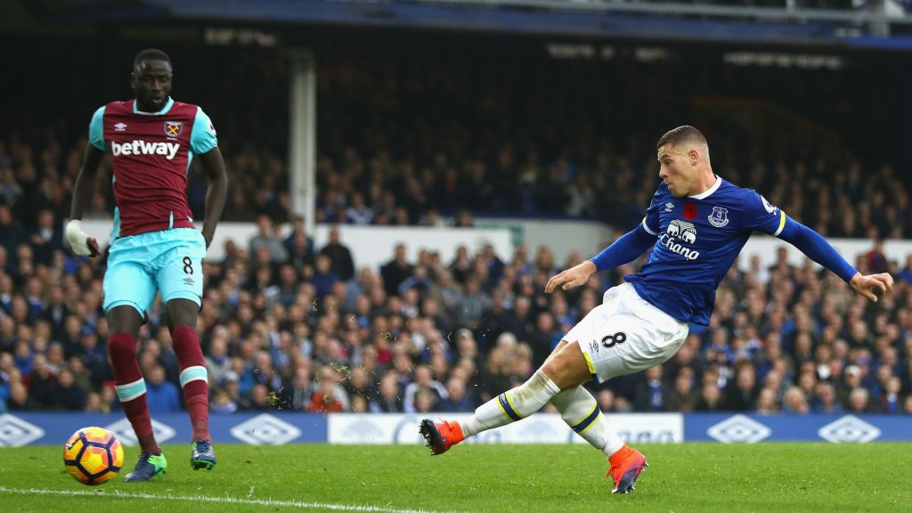Prediksi Pertandingan Bola Everton vs West Ham United 16 september 2018