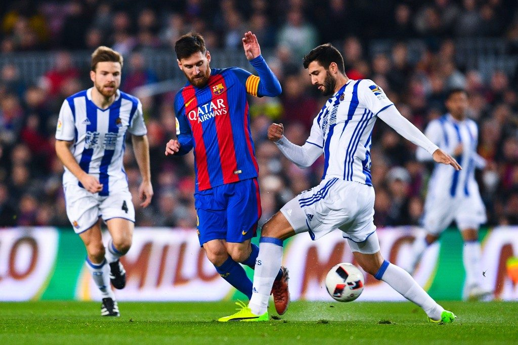 Prediksi Pertandingan Bola Real Sociedad vs Barcelona 15 September 2018