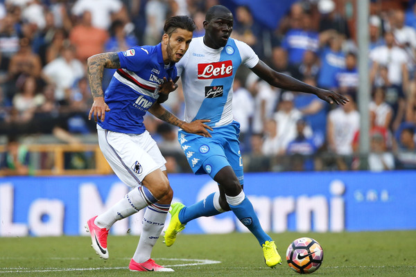 Prediksi Pertandingan Bola Sampdoria vs Napoli 3 September 2018