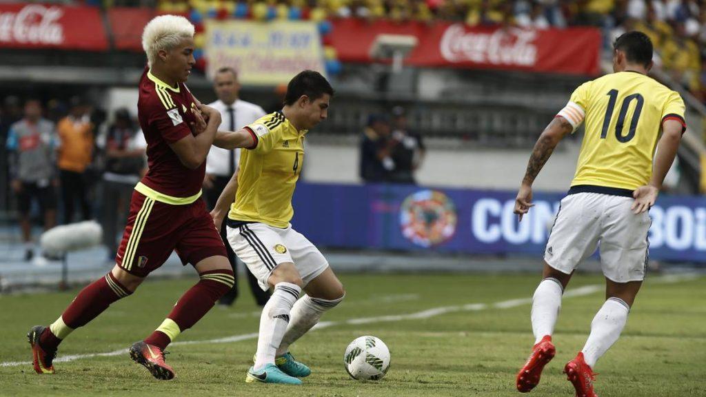Prediksi Pertandingan Bola Venezuela vs Kolombia 8 September 2018