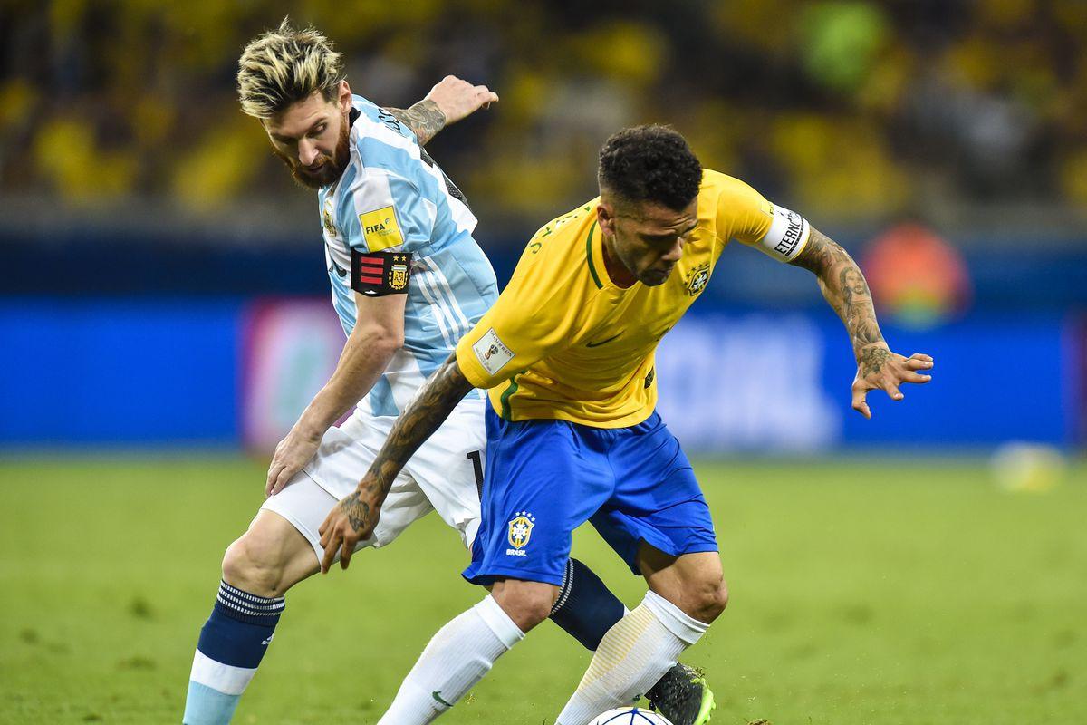Prediksi Pertandingan Bola Brazil vs Argentina 17 Oktober 2018