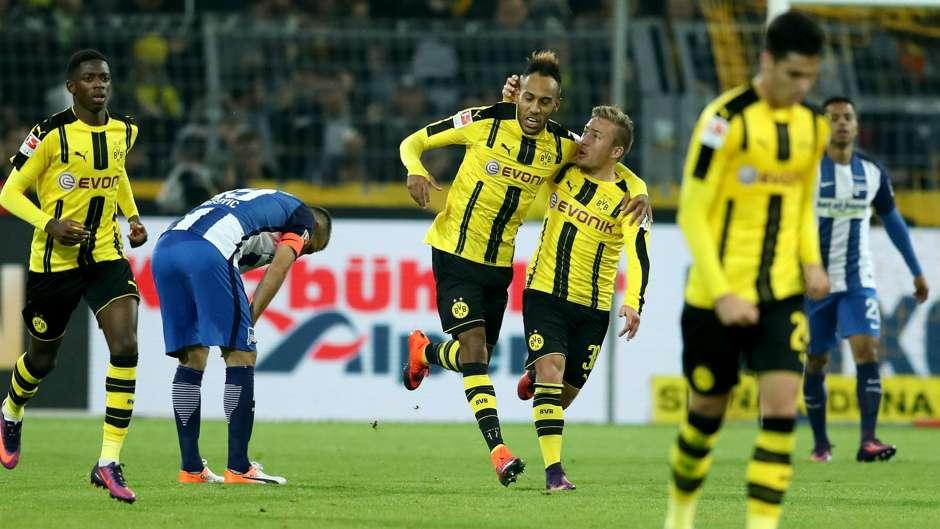 Prediksi Pertandingan Bola Dortmund vs Hertha Berlin 27 Oktober 2018