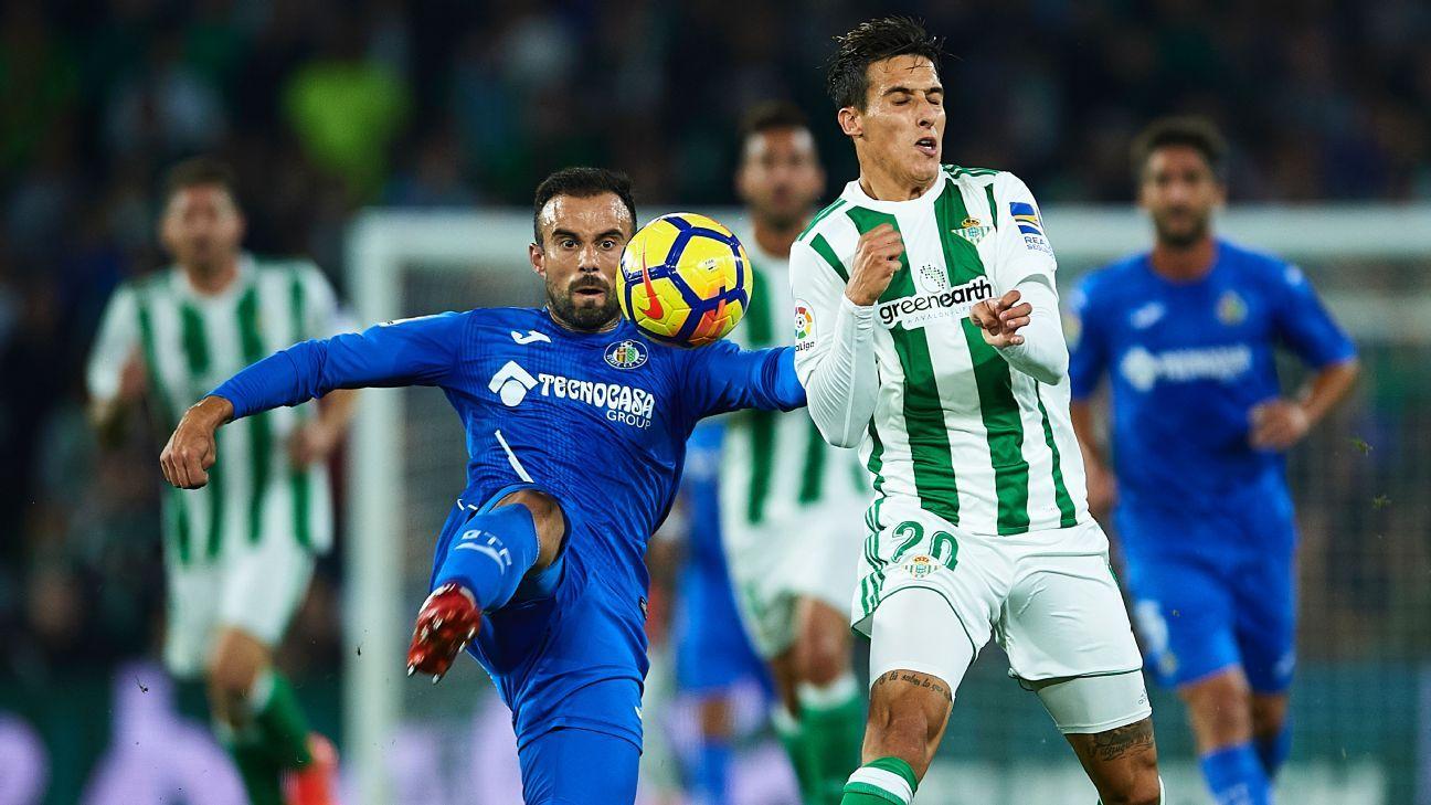 Prediksi Pertandingan Bola Getafe vs Real Betis 28 Oktober 2018