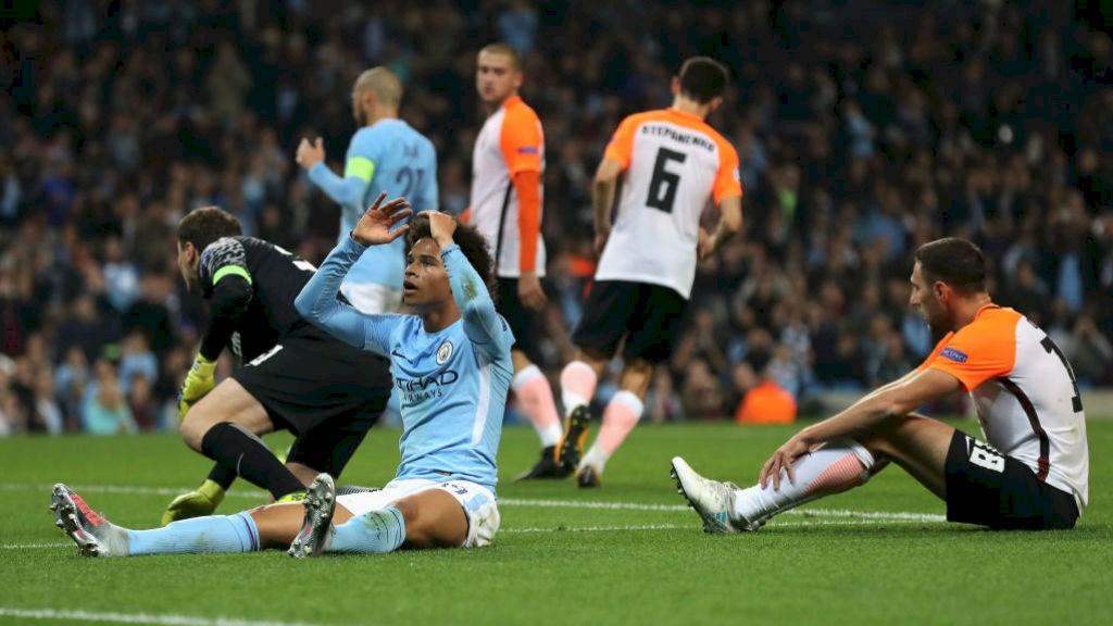 Prediksi Pertandingan Bola Shaktar Donetsk vs Manchester City 24 Oktober 2018