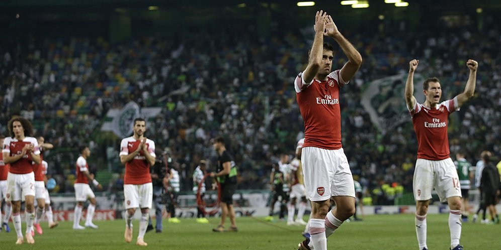 Prediksi Pertandingan Bola Arsenal Vs Sporting CP 9 November 2018